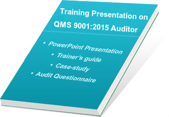 ISO 9001-2015 Auditor training ppt
