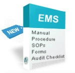 ISO 14001:2015 documents, manual, procedures, audit checklist