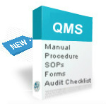 ISO 9001 certification documents manual, procedures, audit checklist