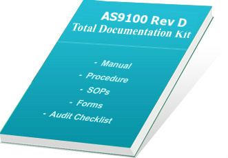 As9100 certification consultants as 9100 documentation kit for Supplier quality manual template