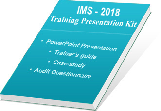 IMS Auditor Training Presentation Kit