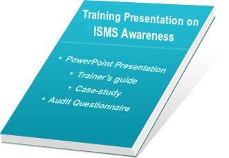 ISO 27001 certification - ISMS auditor training ppt