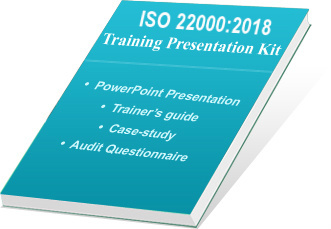 ISO 22000 Training Presentation Kit