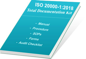 ISO 20000 Documents Manual