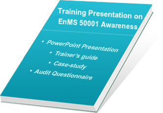 ISO 50001 Auditor Training Presentation Kit