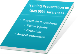 QMS 2015 awareness training ppt