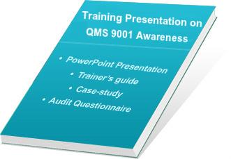 training presentation kit on iso 9001 2015 system awareness